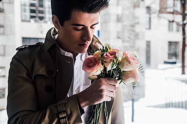 Blumen zum Date?