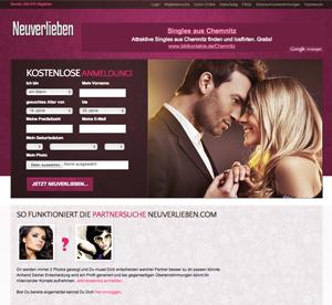 Neuverlieben.com Startseite