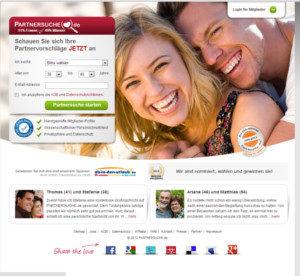 Partnersuche.de Startseite